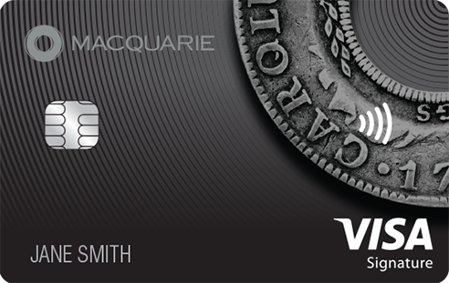 Macquarie black VISA card
