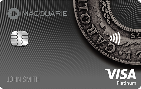 Macquarie platinum VISA card